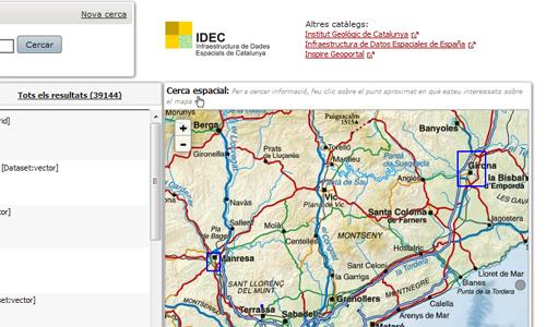 Geoportal Temàtic IDEC de Cartografia Històrica
