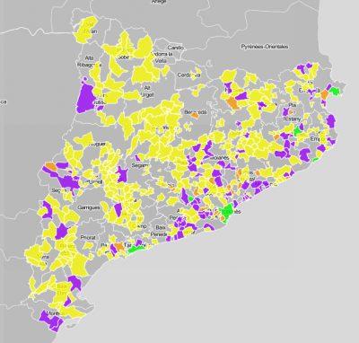 Ajuntaments: ús del servei e-NOTUM durant el primer trimestre de 2017