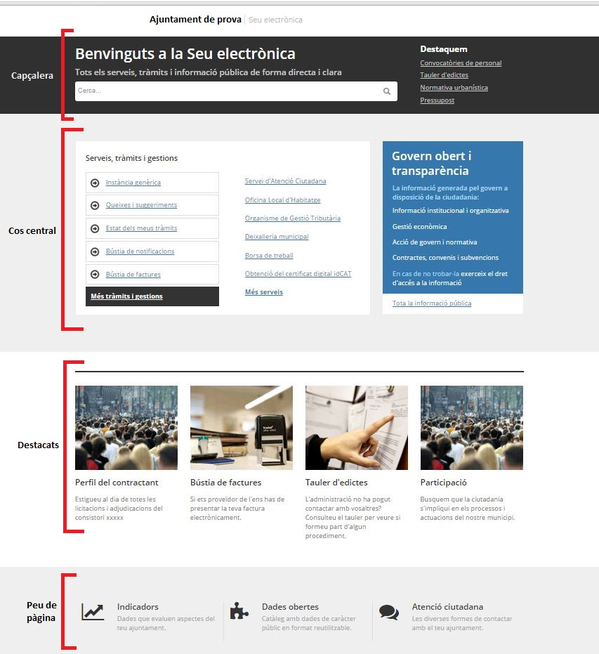 estructura pagina web seu 20