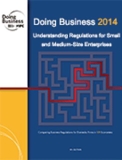 "Dades de l'informe ""Doing Business 2014"" d'Espanya (Banc Mundial)"