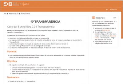 Més de 200 alumnes al curs virtual de Seu-e 2.0 i Transparència