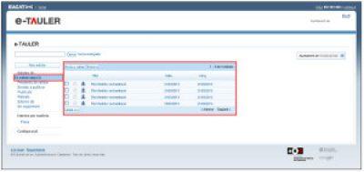 La connexió d'EACAT i eTAULER facilita la gestió dels edictes de la DGP