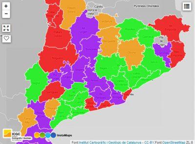 Consells comarcals: ús de l'e-NOTUM durant el 2016