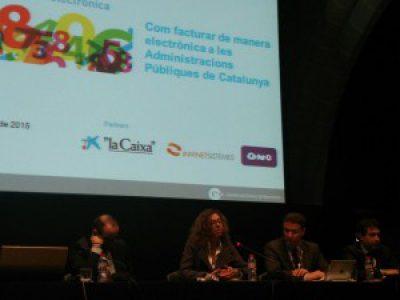 """Jornada """"Com facturar de manera electrònica a les Administracions Públiques de Catalunya"""""""