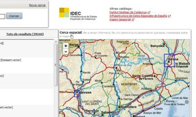 El Catàleg IDEC inclou més de 3.400 nous registres de metadades de cartografía històrica