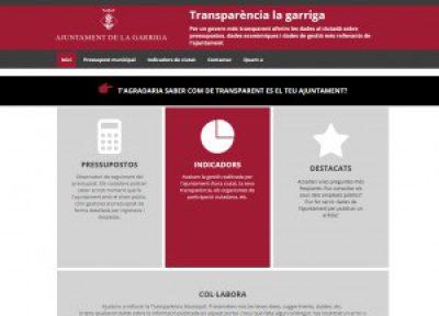 L'ajuntament de La Garriga, transparents al 100%