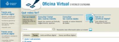 Mataró presenta l'Oficina Virtual d'Atenció Ciutadana