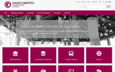 Granollers presenta el seu portal de dades obertes