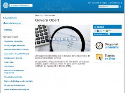 L'Ajuntament de Badalona posa en marxa el seu portal de transparència