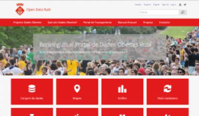 Open Data Rubí: nou portal de dades obertes