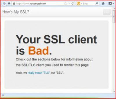 TLS. Els nostres navegadors d'Internet estan preparats?