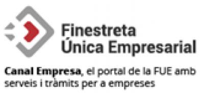 Incorporació de la imatge de Finestreta Única Empresarial a l'e-TRAM