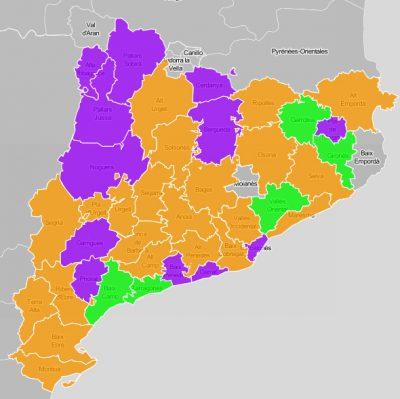 Consells comarcals: ús de l'e-NOTUM durant el primer trimestre de 2017
