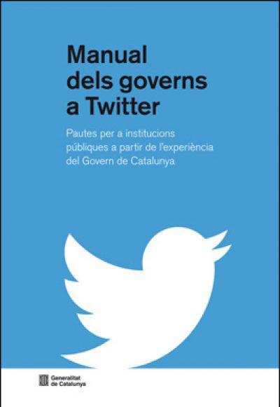 """Publicat el """"Manual dels governs a Twitter"""""""