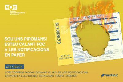 Calem foc a les notificacions en paper!