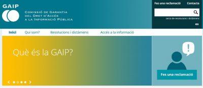 El Govern aprova el reglament de la Comissió de Garantia del Dret d'Accés a la Informació Pública