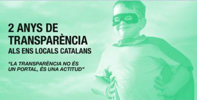 Balanç dels dos anys de transparència als ens locals catalans