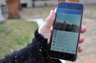SantviAPProp permet comunicar incidències a través del mòbil