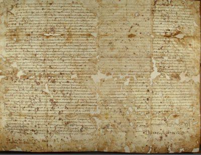 """L'Arxiu Històric de Cardona dona accés als seus fons a través del cercador """"Arxius en Línia"""""""
