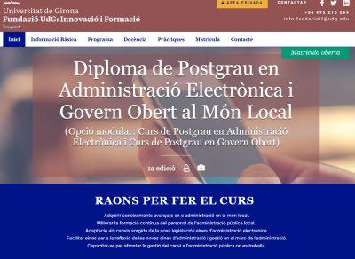 Inscriu-te ara al Postgrau en Administració Electrònica i Govern Obert al Món Local