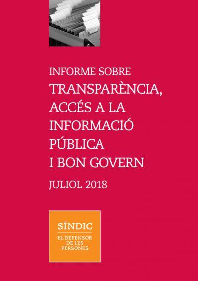 El Síndic reclama més col·laboració entre administracions per garantir l'accés a la informació