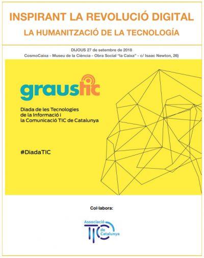 """DiadaTIC 2018: """"Inspirant la revolució digital: la humanització de la tecnologia"""""""
