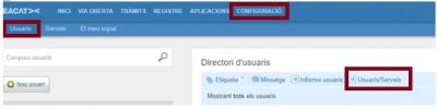 Nova funcionalitat per als gestors d'usuaris de EACAT