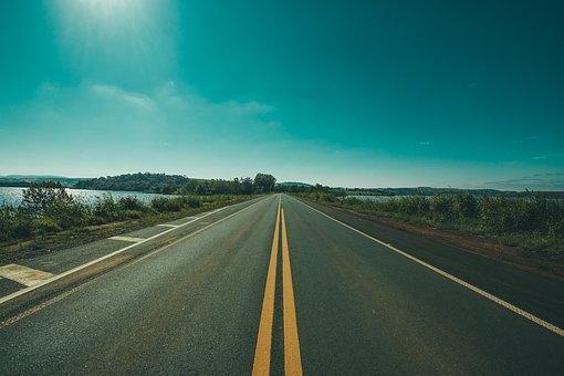 Camí de doble direcció totalment lliure