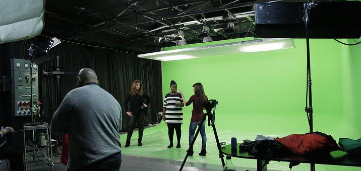 Gravació d'un programa de televisió