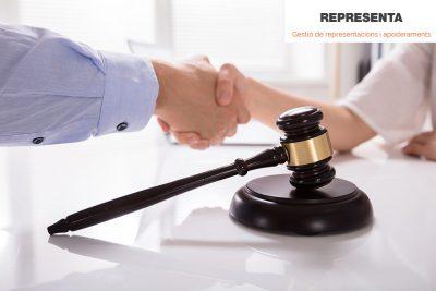 Neix Representa, el servei digital que recull les representacions legals