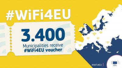 Un centenar de municipis catalans rebran 15.000 euros per instal·lar wifi pública