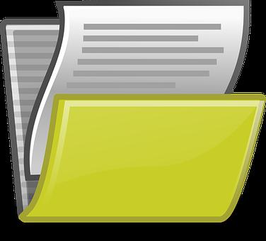 Portafolis per arxivar informes i dictàmens