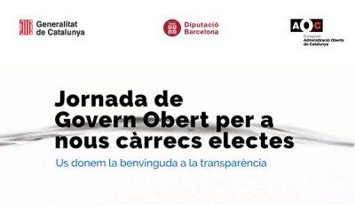 Jornada de govern obert per a electes i tècnics locals: inscripcions obertes