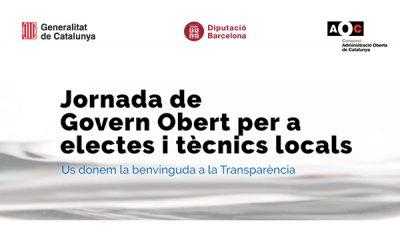 Jornada de govern obert per a electes i tècnics locals