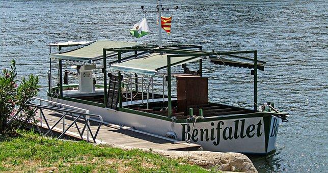 Baixell turístic pel riu Ebre, a Benifallet