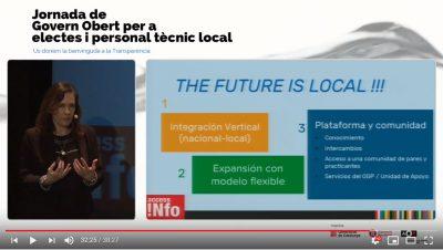 El futur és local! Sigueu, doncs, governs locals oberts i transparents com l'aigua