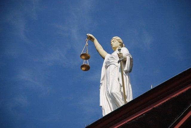 Estàtua de la deessa Justícia