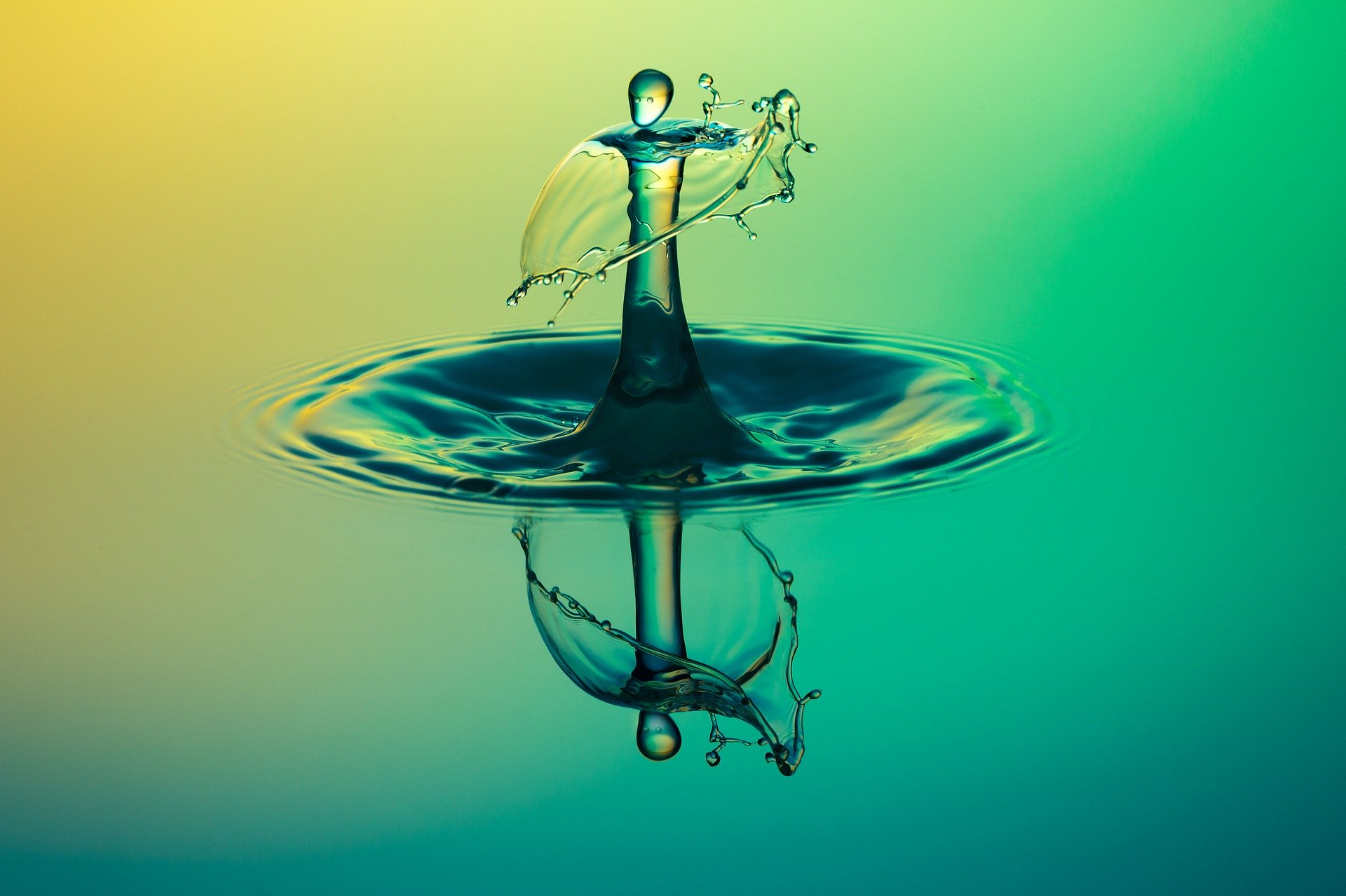 Una gota d'aigua