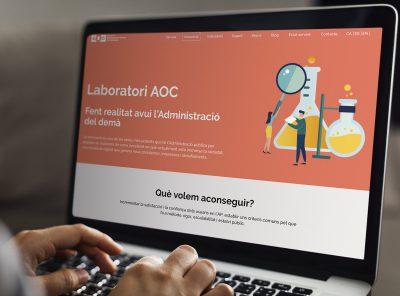 L'experiència del Laboratori d'Innovació AOC. Fent realitat avui l'Administració del demà