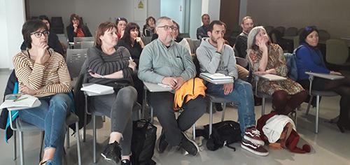 Assistents a la presentació de les dades obertes de l'AOC