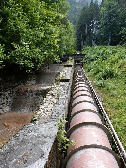 Canonada subterrània d'aigua