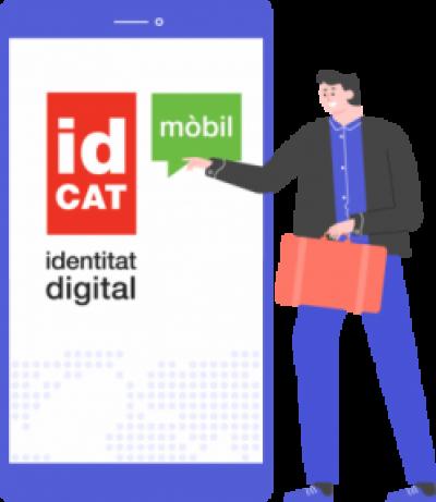 Els estrangers amb TIE ja es poden donar d'alta a l'idCAT Mòbil des de casa