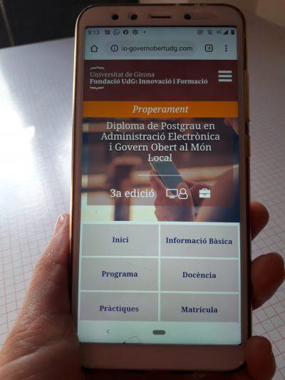 Matricula't a la 3a edició del Postgrau d'Administració Electrònica i Govern Obert al Món Local