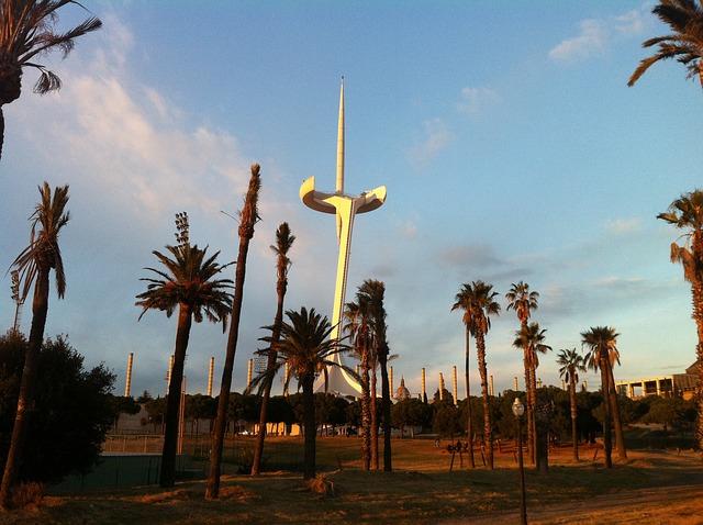Fotografia del Palau Sant Jordi
