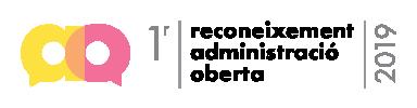 1r Premi Administració Oberta 2019