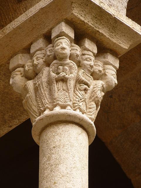 Capitell romànic de Sant Pere de Rodes