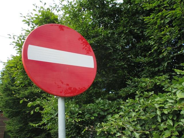 Senyal de trànsit de prohibit