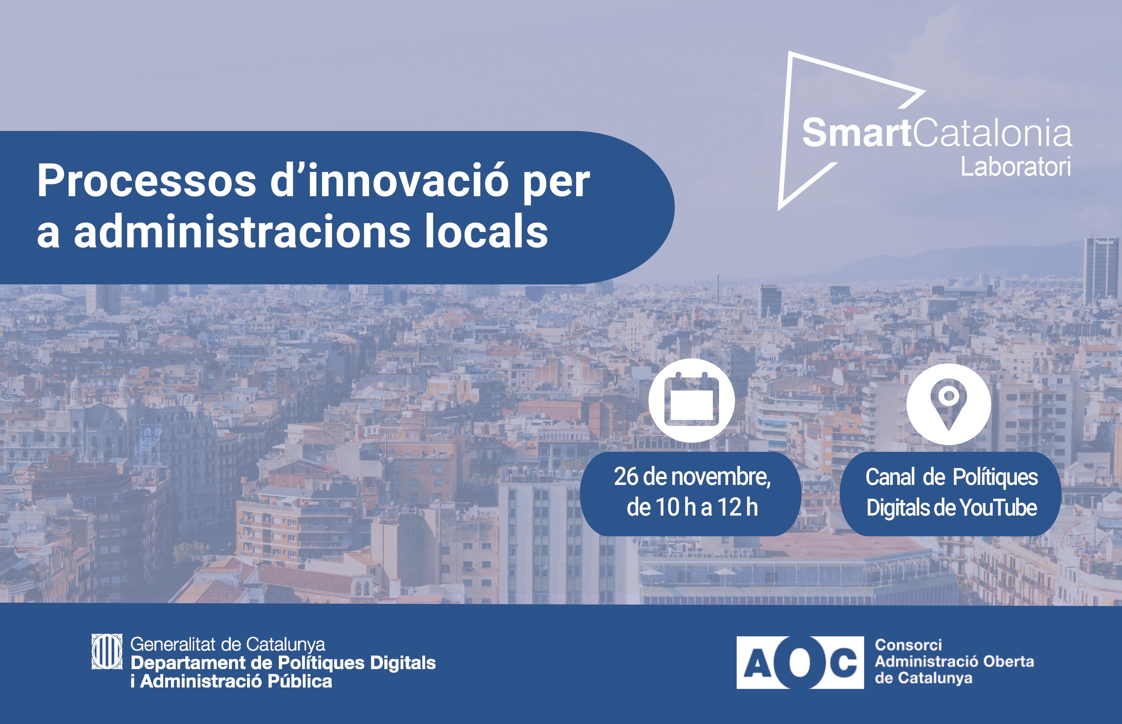 Banner Jornada Laboratori SmartCatalonia