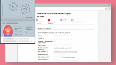 Vídeo-píndola: Com sol·licitar, descarregar i instal·lar l'idCAT certificat