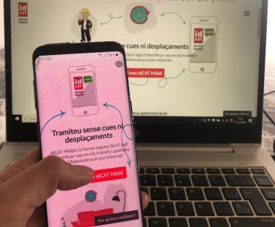 El Síndic recomana l'idCAT Mòbil per tramitar de forma fàcil i àgil